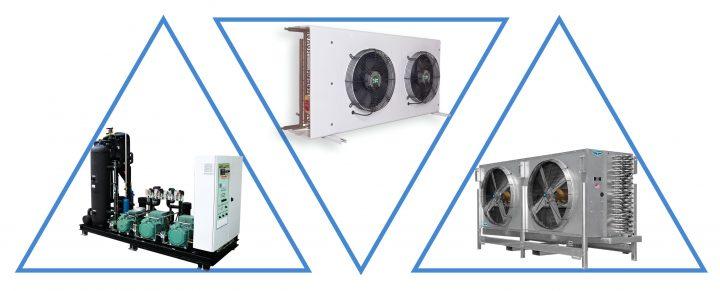 Комплект оборудования для шоковой заморозки 19,34  кВт